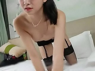 Sweety Chinese Uncovered Cut up Yuan Yao Portraut Video.