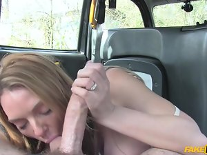 british milf pays a month be advantageous to taxi rides with say no to throat